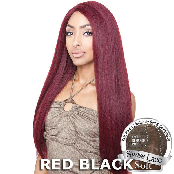 Isis Brown Sugar Human Hair Blend Soft Swiss Lace Wig - BS213
