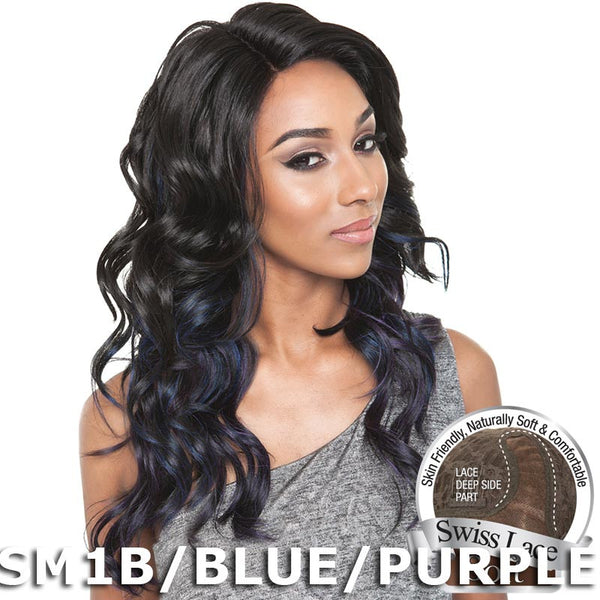 "Isis Brown Sugar Human Hair Blend Soft Swiss Lace Wig - BS214 (22"")"