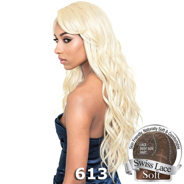 "Isis Brown Sugar Human Hair Blend Soft Swiss Lace Wig - BS215 (26"")"