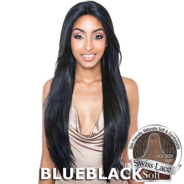 "Isis Brown Sugar Human Hair Blend Soft Swiss Lace Wig - BS216 (30"")"