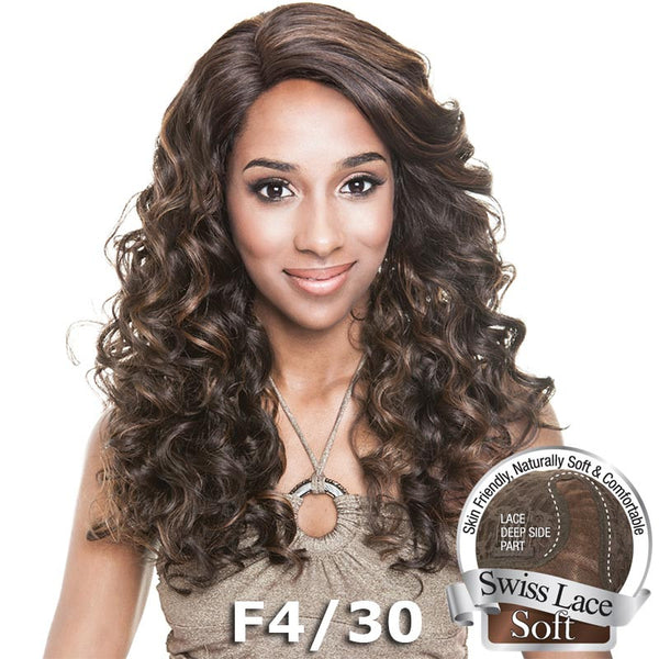 "Isis Brown Sugar Human Hair Blend Soft Swiss Lace Wig - BS217 (20"")"