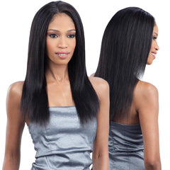 Saga Naked Unprocessed Brazilian Remy Hair Weave - BRAZILIAN STRAIGHT 7PCS