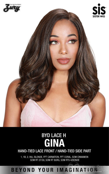 Zury Sis Beyond Deep Side Part Lace Front Wig - GINA