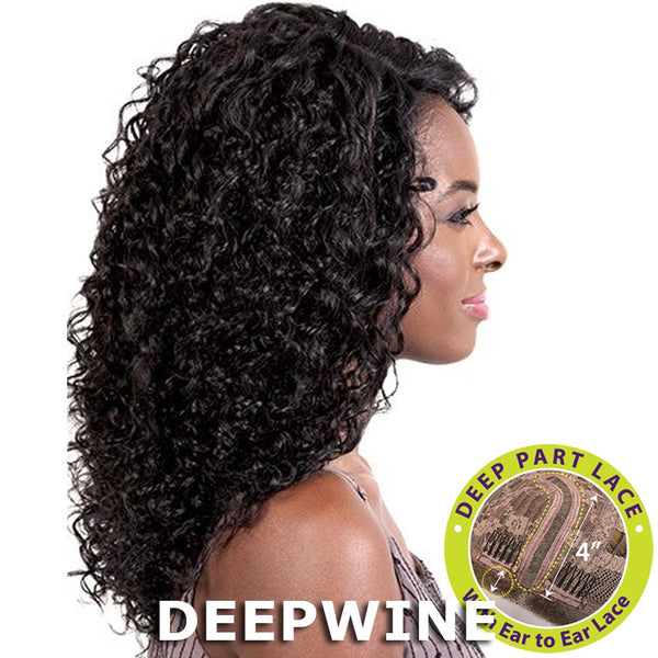 "BeShe 4"" Deep J-Part Lace Front Wig - LLDP-318 (18"")"