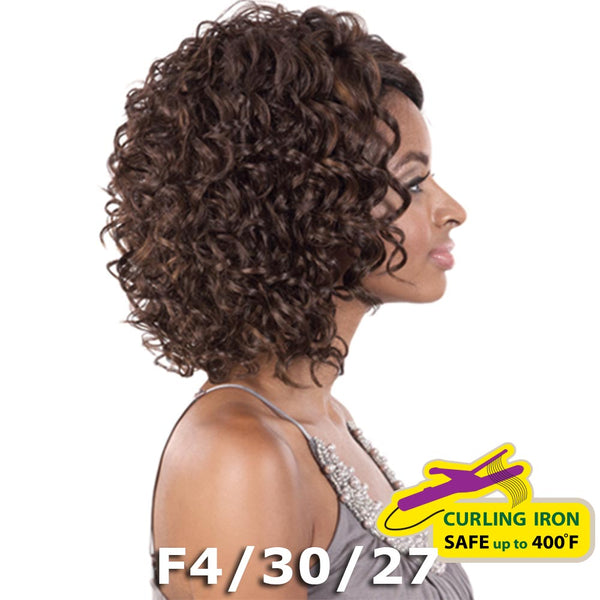 "BeShe 2"" Deep Lace Front Wig - LACE-25 (Curly Medium Page 12"")"