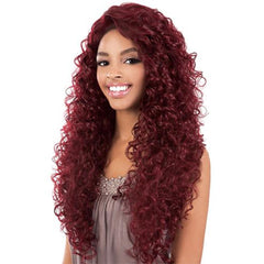"BeShe 2"" Deep Lace Front Wig - LACE-302 (Super Long Curl 29"")"