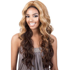 "BeShe 2"" Deep Lace Front Wig - LACE-306 (Loose S-Curl Long 24"")"
