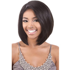 "BeShe 4"" Deep ""J""-Part Lace Front Wig - LLDP-111 (11"")"
