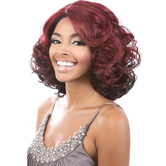 "BeShe 4"" Deep ""J""-Part Lace Front Wig - LLDP-113 (13"")"