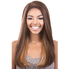 "BeShe 4"" Deep ""J""-Part Lace Front Wig - LLDP-122 (22"")"