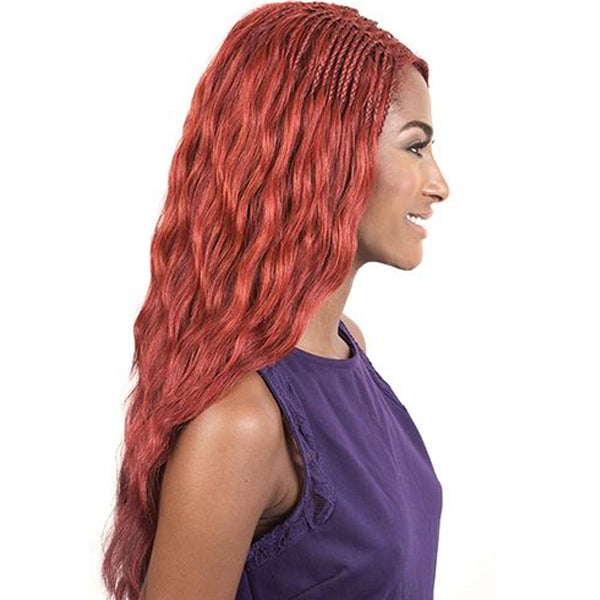 "BeShe Deep ""J""-Part Lace Front Wig - LLDP-423 (23"")"
