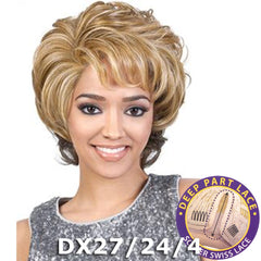 "BeShe Swiss Lace Deep Part Lace Front Wig - LLSP-101 (10"")"