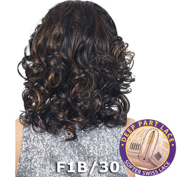 "BeShe Swiss Lace Deep Part Lace Front Wig - LLSP-141 (14"")"