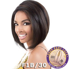 "BeShe Swiss Lace Deep Part Lace Front Wig - LLSP-211 (11"")"