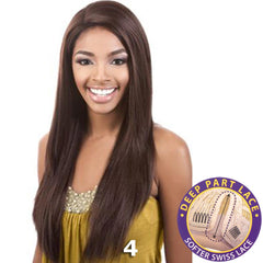 "BeShe Swiss Lace Deep Part Lace Front Wig - LLSP-325 (25"")"
