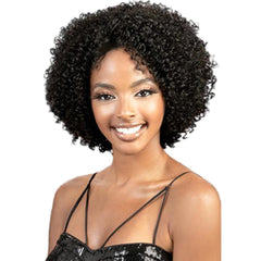 "BeShe Ear-2-Ear Lace Front Wig - LW-DREW (Tight Curl 10"")"
