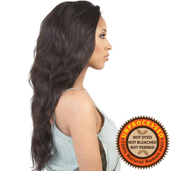 BeShe Unprocessed Brazilian Remy Human Hair Lace Wig - HBR-L.SARA 24""