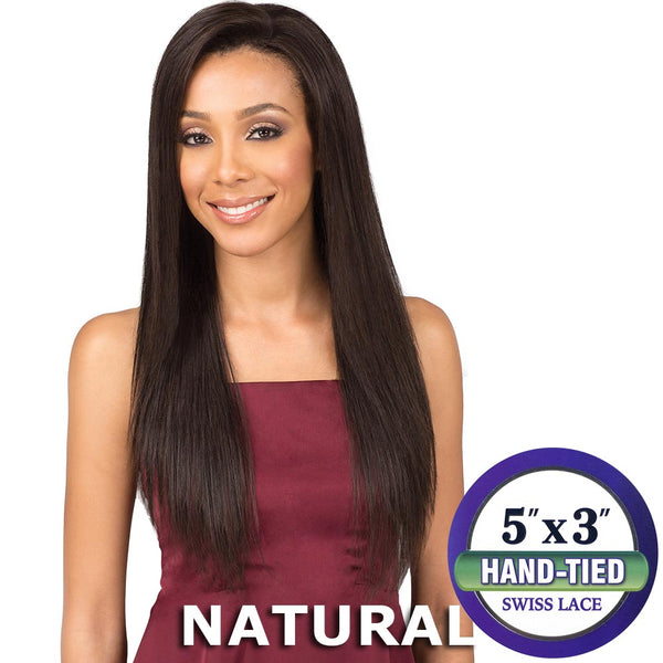 "BobbiBoss Unprocessed Hair 5""X3"" Lace Front Wig - MHLF305 CHARIS"