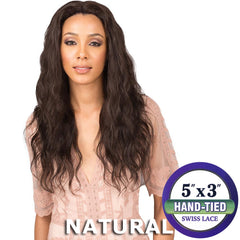 "BobbiBoss Unprocessed Hair 5""X3"" Swiss Lace Front Wig - MHLF306 MELANIA"