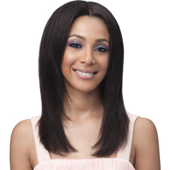 BobbiBoss Unprocessed Human Hair Whole/Full Lace Wig - STRAIGHT 20""