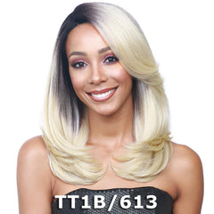 "BobbiBoss 4"" Deep C-Part Swiss Lace Front Wig - MLF135 CLAUDIA"