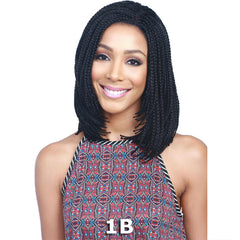 BobbiBoss Braid Lace Front Wig - MLF-25 BOX BRAID BOB 16""