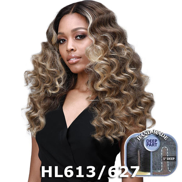 "BobbiBoss 5"" Deep Part Swiss Lace Front Wig - MLF385 JOURNEY"