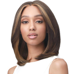 "BobbiBoss Soft Blowout Texture Hair 5"" Deep Part Lace Front Wig - MLF480 Sadie"