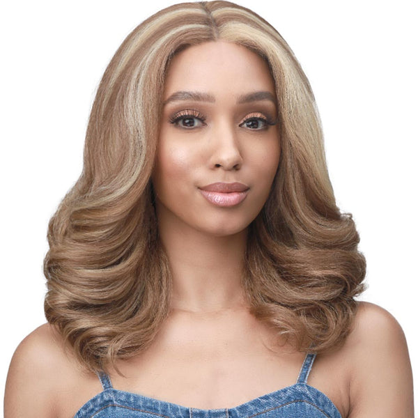 "BobbiBoss 3.5"" Deep Part Ear-to-Ear Lace Front Wig - MLF483 MELODY"
