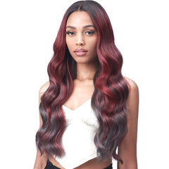 "BobbiBoss 5"" Deep Part Ear-to-Ear Lace Front Wig - MLF554 Rosewood"