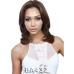 BobbiBoss Synthetic Hair Weave-A-Wig - NORA