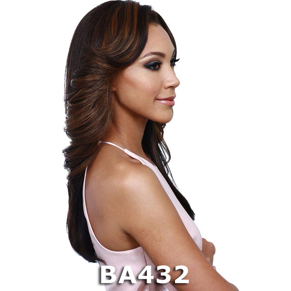BobbiBoss Synthetic Hair Weave-A-Wig - THEORA