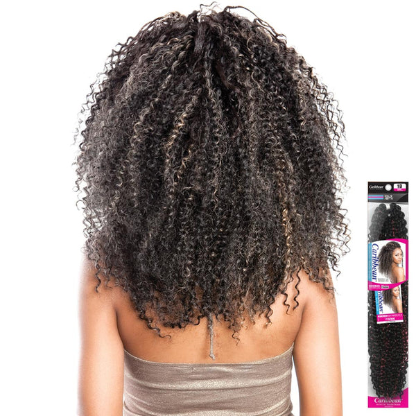 ISIS Faux Remi Fiber Caribbean Bundle Braid - BOHEMIAN SOFT WATER