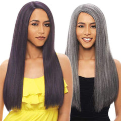 Janet Collection Brazilian Scent 100% Human Hair Lace Wig - ARIEL