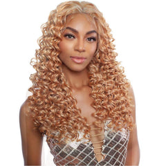Brown Sugar Human Hair Blend Whole Lace Wig - BSI408 SEVILLE