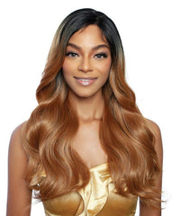Brown Sugar Human Hair Blend Whole Lace Wig - BSI409 AMALFI