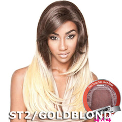 "Mane Concept Brown Sugar Human Hair Blend Silk Lace Wig - BS603 (4""X4"" Lace)"