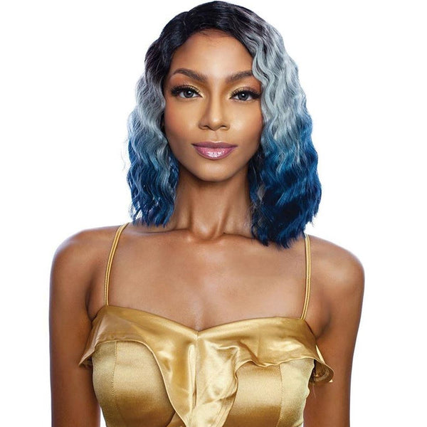 Melanin Queen Human Hair Blend AnyPart Lace Wig - MLCP202 QUEEN CRIMP
