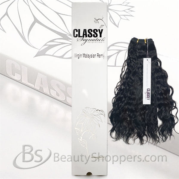 Classy Signature 100 Virgin Malaysian Remy Hair Weave French Wave
