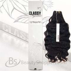Classy Signature 100% Virgin Malaysian Remy Hair Weave - SPANISH WAVE