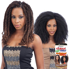 FreeTress Equal Synthetic Hair Braid - CUBAN TWIST 12""