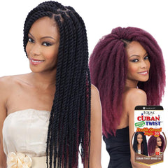 FreeTress Equal Synthetic Hair Braid - CUBAN TWIST 16""