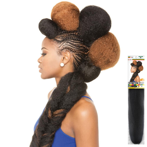 ISIS Afri-Naptural 100% Kanekalon Hair Braid - DEFINITION BRAID
