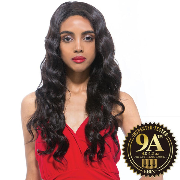 EBIN Celebrity Collection Wig Dress Unprocessed Hair Lace Front Wig - 9A OCEAN WAVE