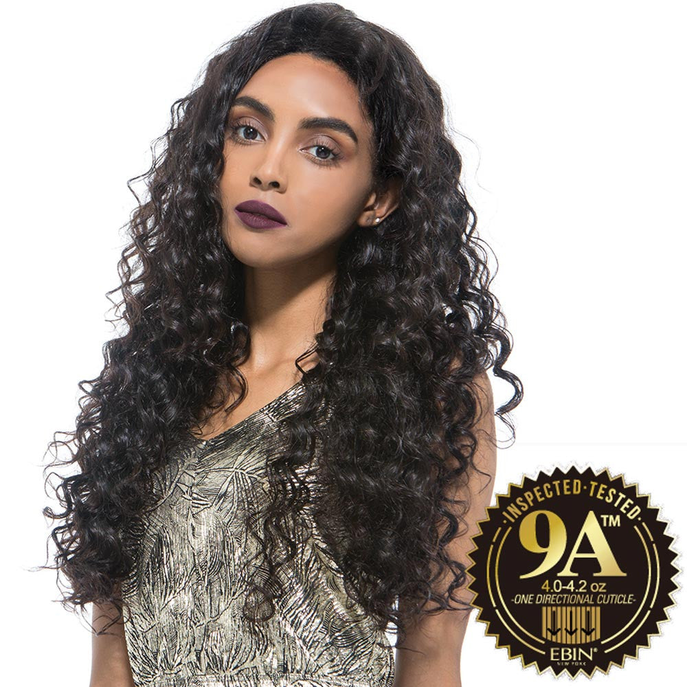 EBIN Wig Dress Unprocessed Hair Lace Front Wig 9A DEEP WAVE