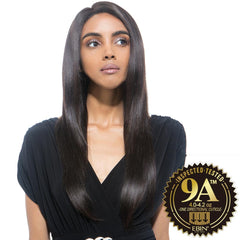 EBIN Celebrity Collection Wig Dress Unprocessed Hair Lace Front Wig - 9A STRAIGHT