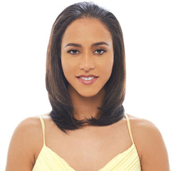 Janet Collection New Easy Quick Half Wig - EDITH