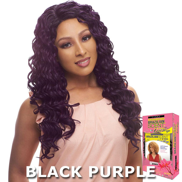 Janet Collection Brazilian Scent 100% Human Hair Lace Wig - EMILY