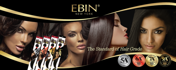 EBIN New York 100% Unprocessed Hair Weave - 5A+ DEEP WAVE COMBO 6pcs