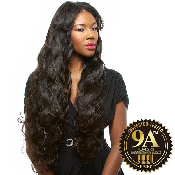 EBIN New York Unprocessed Brazilian Hair Weave - 9A BODY WAVE